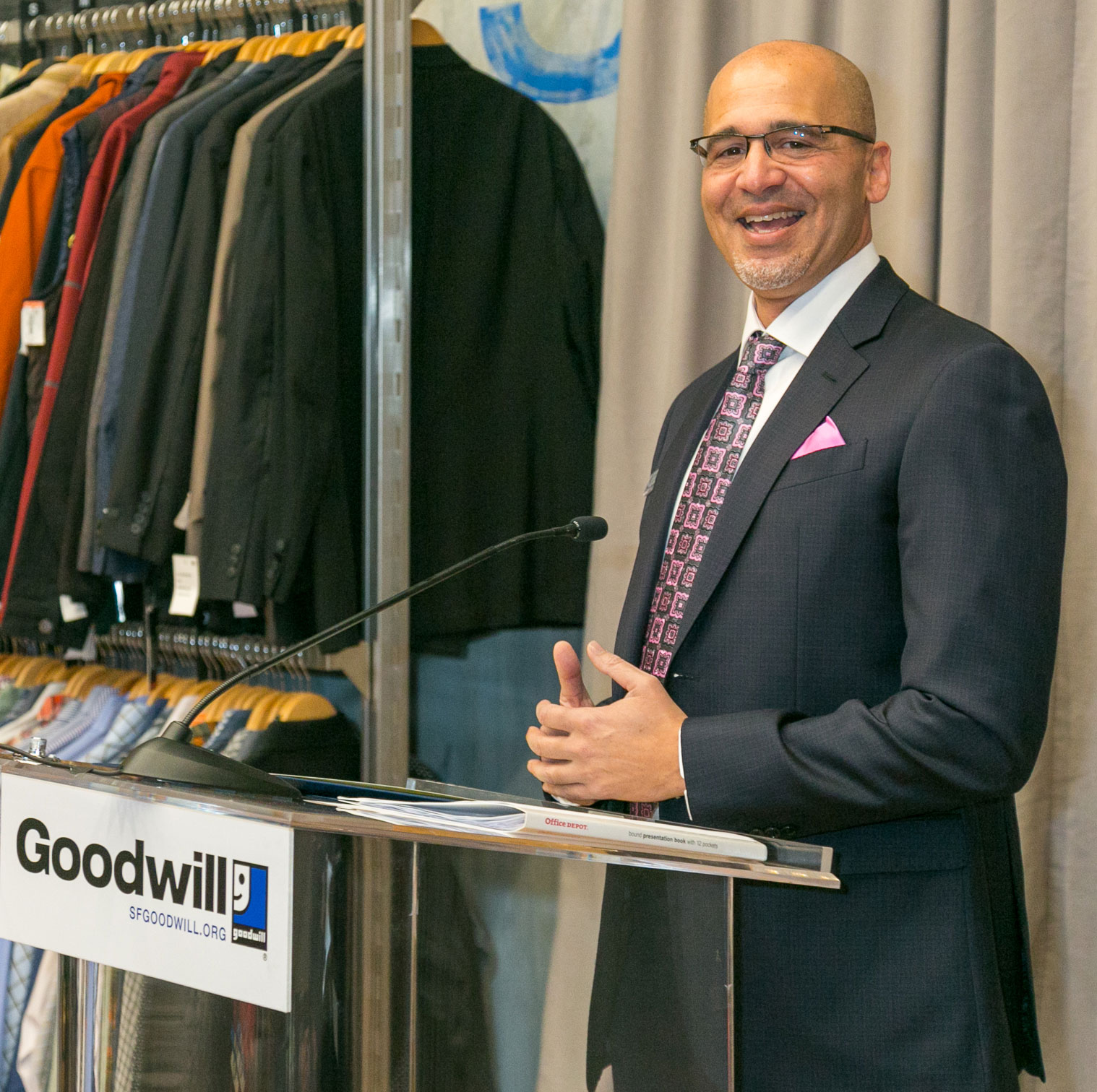 SF Goodwill CEO William Rogers